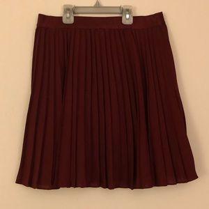 Stretchy Flared Skirt